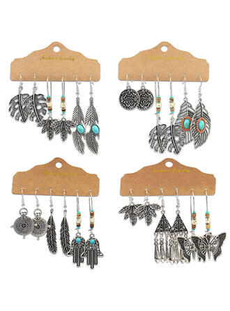 Unique Stylish Alloy Jewelry Sets Earrings