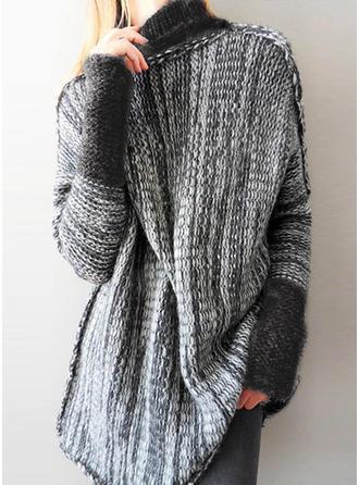 Ribbed Turtleneck Sweater Dress (1002212743)