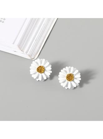 Schöne Legierung Frauen Art-Ohrringe