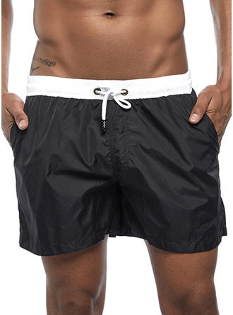 Men's Drawstring Swim Trunks