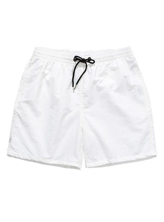 Mænd Solid Color Foret Board shorts