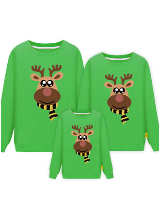 Deer Family Matching Sweatshirts