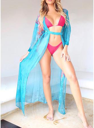 Bloemen Riem Boheems Bikini's Badjassen Badpakken