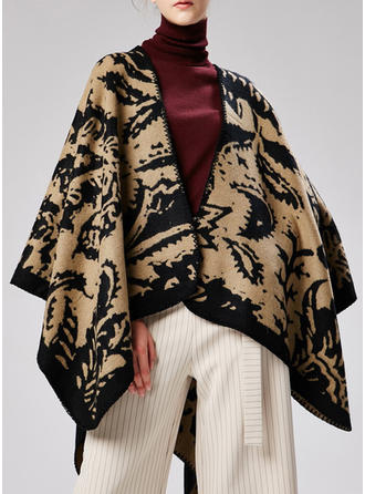 Stile Country attraente/moda Poncho