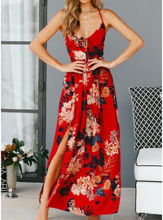 Cotton With Boho Maxi Dress