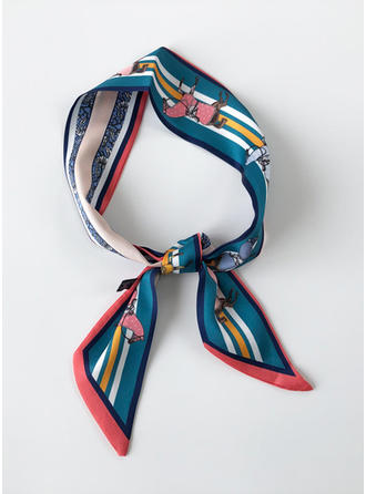 Retro/Vintage Light Weight Silk Scarf