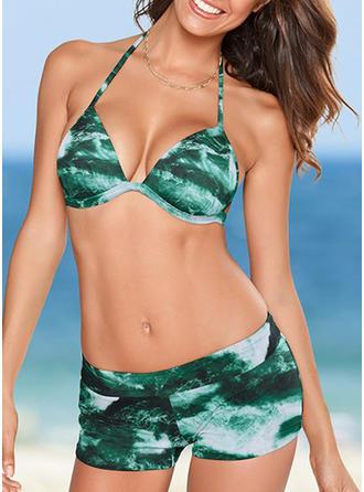 Coloré Dos Nu À La Mode Bikinis Maillots De Bain