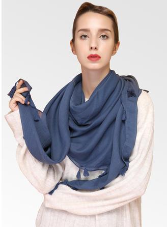 Jednobarevná Lehká váha Čtvercový šátek