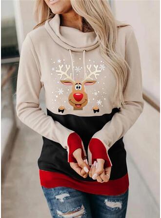 Dyr Lange ærmer Jule sweatshirt
