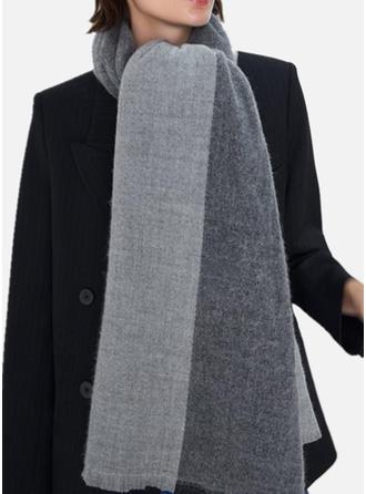 Color Block enkle/Koldt vejr Halstørklæde