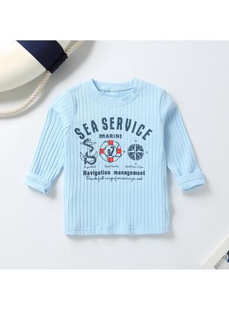 Bébé & Bambins Imprimé Bande Dessinée Coton Sweat-Shirt