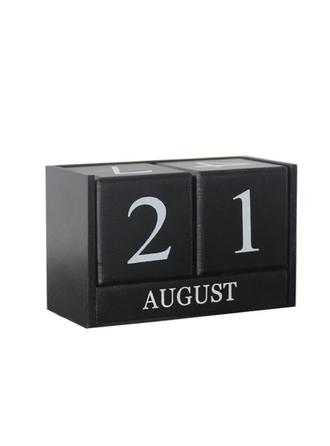 Simple Resin Calendar Decorative Objects