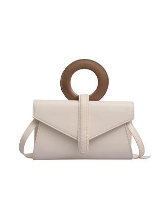 Elegant/Anhänger/Vintage/Einfarbig Handtaschen/Schultertaschen