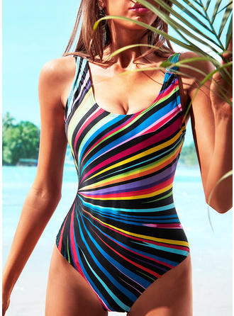 Colorful Strap Beautiful One-piece Swimsuits