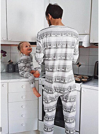 Renne Tenue Familiale Assortie Pyjama De Noël