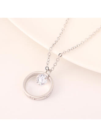 Fashionable Alloy Necklaces