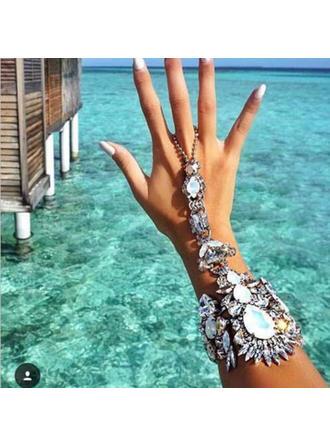 sexy Aliaj cu Crystal de imitație Femei Plajă bijuterii