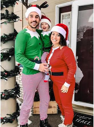 W Paski Wydrukować Rodzinne Dopasowanie Świąteczne piżamy