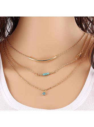Unique Alloy Ladies' Fashion Necklace