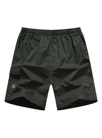 Pour des hommes Couleur unie Shorts de bain