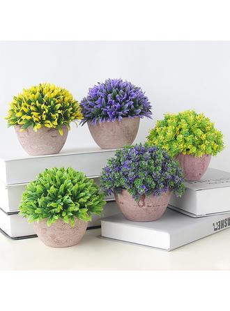 Casual Plástico Flores Artificiales