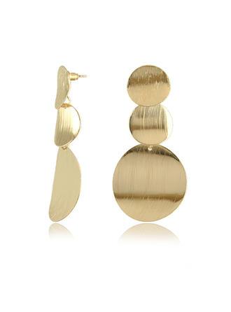 Chic Alloy Ladies' Earrings