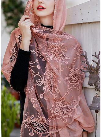 Floral Shawls/fashion Scarf