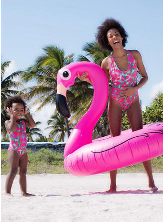Mommy and Me Print Matching Swimsuit