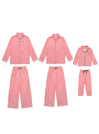 Striped Tenue Familiale Assortie Pyjamas