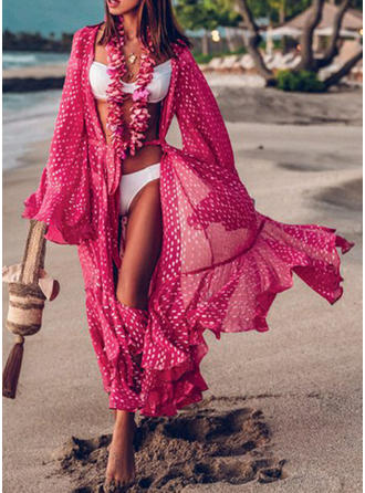 Dot Sexy Bohemian Cover-ups Swimsuits
