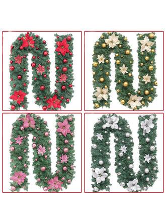 boldog Karácsonyt PVC Karácsonyi dekoráció Girland
