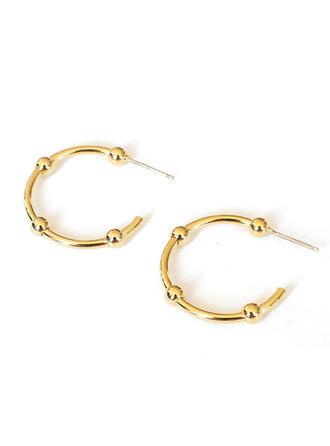 Exquisite Brass Women's Earrings