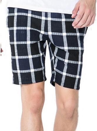 Mænd Grid Board shorts badedragt