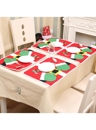 Merry Christmas Non-Woven Fabric Place Mat