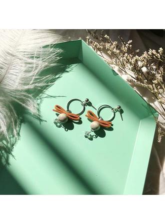 Nice Alloy Women's Fashion Earrings (Set of 2)
