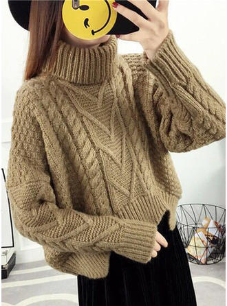 Chunky knit Turtleneck Sweaters