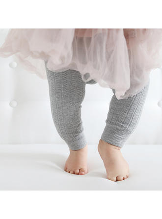 Bébé & Bambin Fille Solid Coton Leggings & Collants