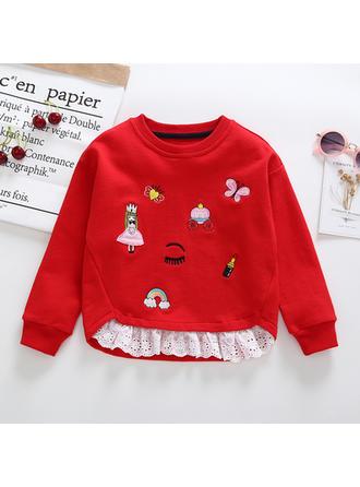 Bébé & Bambin Fille Arc-en-ciel Coton Sweat-Shirt