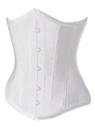 Polyester Spandex Plain Corset