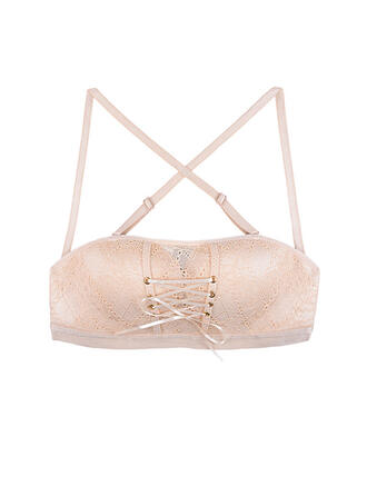 Lace Alluring Backless Spaghetti Strap Bra