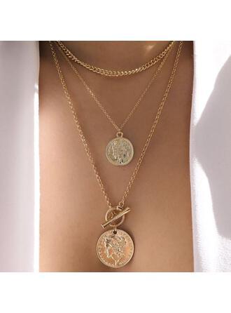 Unik Snygg Legering Smycken Sets Halsband