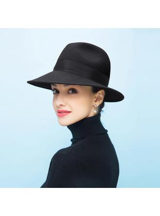 Ladies ' Piękny/Romantyczny Wełna Floppy Hat