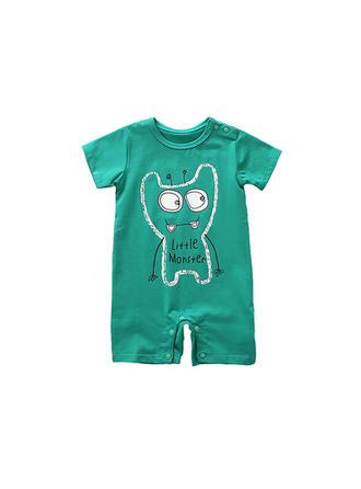 Bébé & Bambin Garçon Imprimé Bande Dessinée Coton Barboteuse