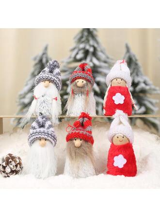 törpe Karácsony angyal Függő Szövet Fa lógó díszek Baba (2-es készlet)
