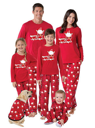 Santa Matching Family Christmas Pajamas