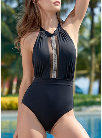 Thong Halter Sexy One-piece Swimsuits