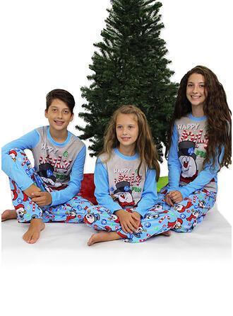 Tisk Rodinné odpovídající Vánoční pyžama