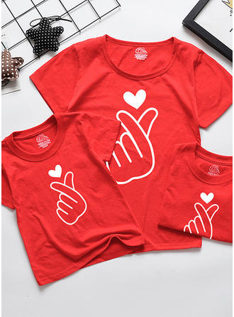 Print Family Matching T-Shirts