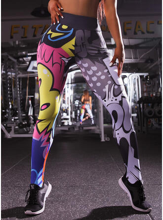 Print Long Long Print Yoga Leggings