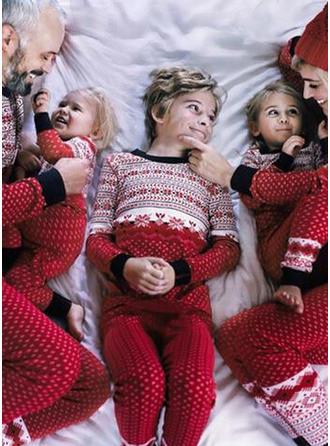 PolkaDot Print Family Matching Christmas Pajamas